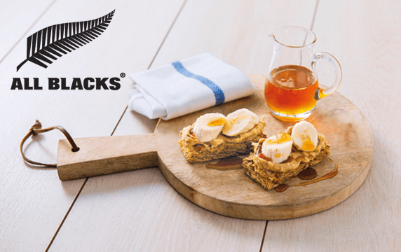All Blacks Favourite - Weet-Bix and peanut butter power combo