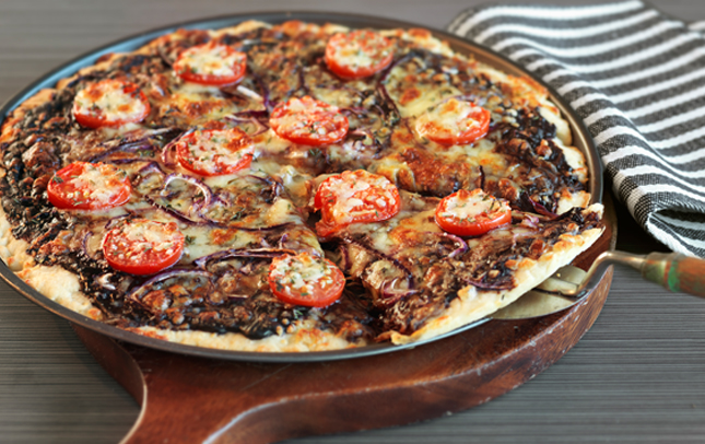 'Easy As' Marmite pizza