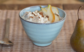 Pear and Weet-Bix™ Bircher