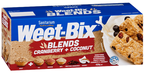 Weet-Bix™ Blends Cranberry & Coconut