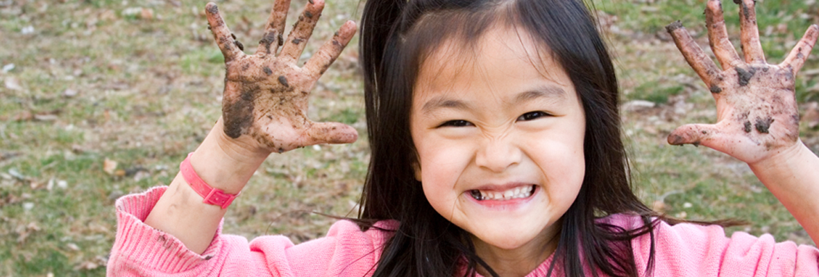 Why getting dirty is good for kids