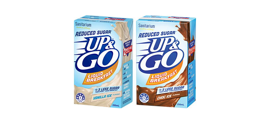 UP&GO™ Reduced Sugar#