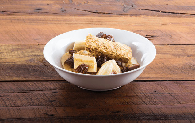 Weet-Bix™ with banana and dates