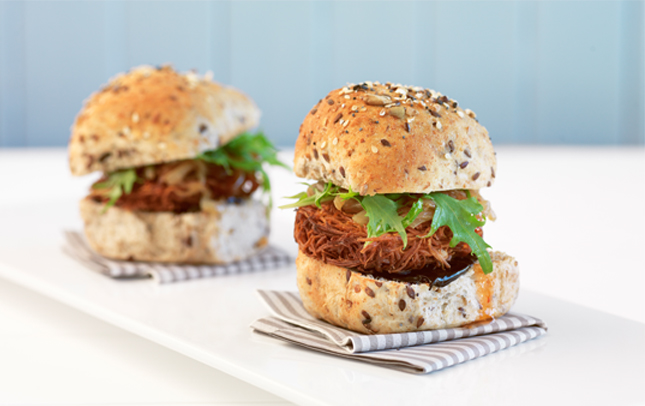 Marmite and kumara sliders