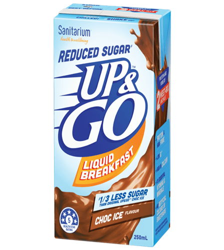 UP&GO™ Reduced Sugar# Choc Ice Flavour