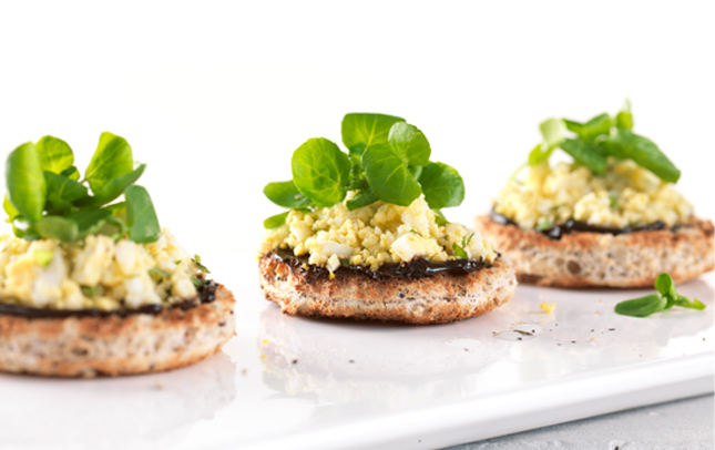 Marmite watercress toast