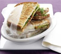Pan-toasted sandwiches image 1
