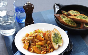 Hearty winter vegetable stew